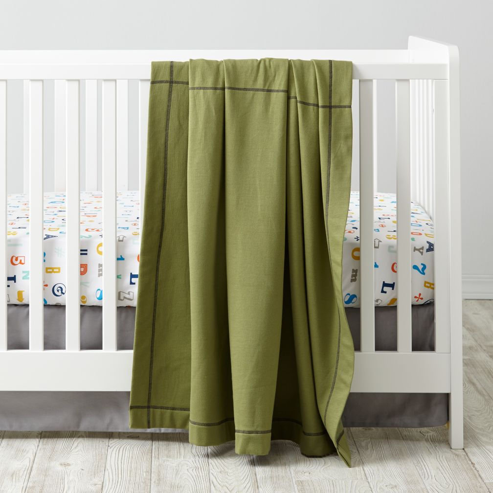 Alphanumeric Crib Bedding