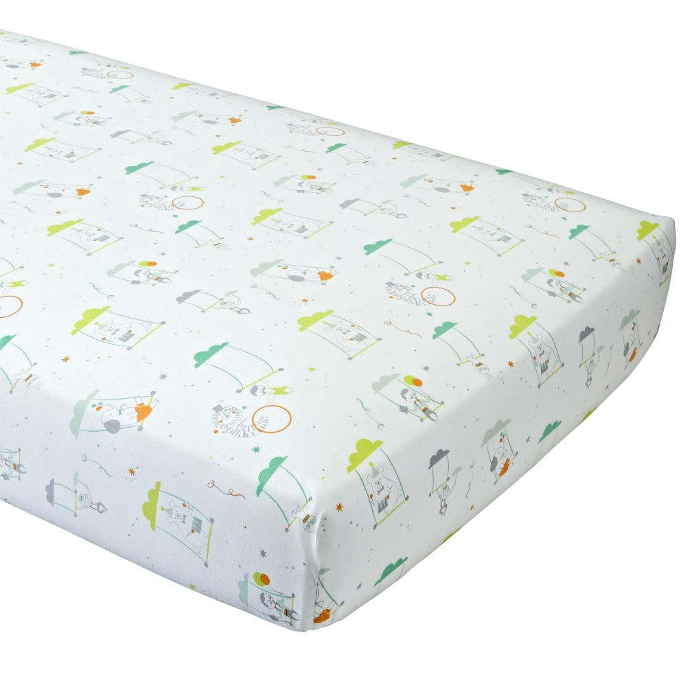 Big Top Crib Fitted Sheet