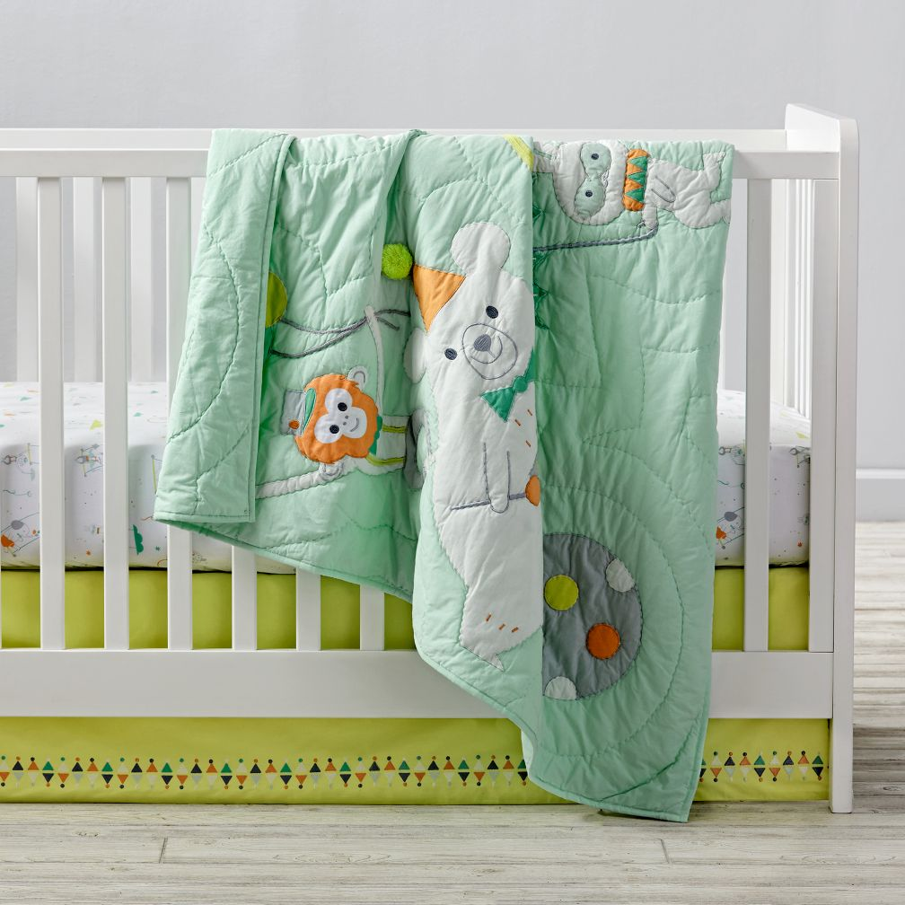 Big Top Crib Bedding and Quilt