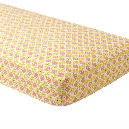 Fly Away Crib Sheet - Fly Away Fitted Crib Sheet