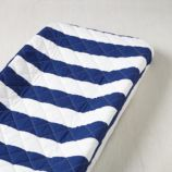 Candy Stripe Changing Pad Cover (Blue)