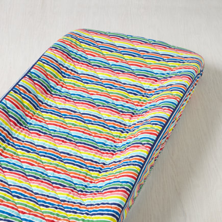 Candy Stripe Multi Color Changing Pad Cover - Multi Candy Stripe Changing Pad Cover