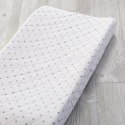 Go Lightly Changing Pad Cover (Grey Dot)