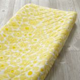 Go Lightly Changing Pad Cover (Yellow Floral)