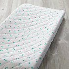 Mint Triangle Go Lightly Changing Pad Cover