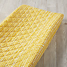Mod Botanical Yellow Hatch Changing Pad Cover