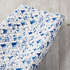 Regatta Blue Sailboat Changing Pad Cover