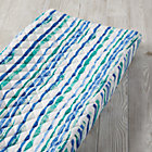 Regatta Blue Stripe Changing Pad Cover
