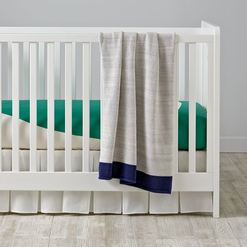 Color Pop Crib Bedding (Green)