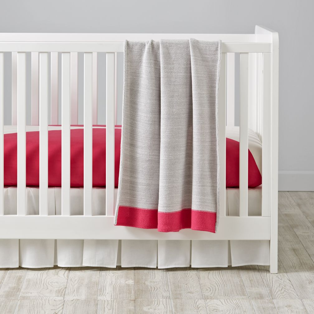 Color Pop Crib Bedding (Pink)