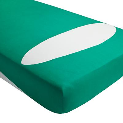 Color Pop Crib Fitted Sheet (Green)