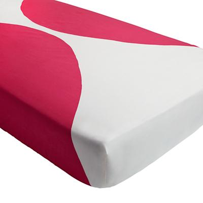 Color Pop Crib Fitted Sheet (Pink)