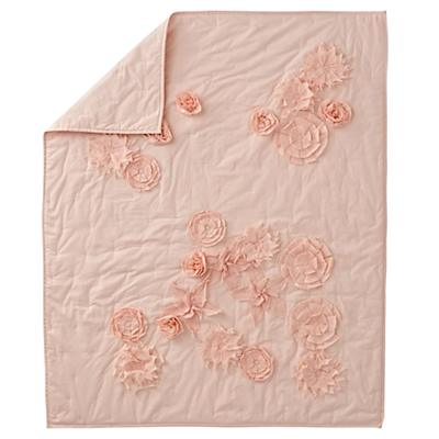 Floral Rush Baby Quilt