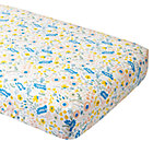 Floral Rush Crib Fitted Sheet