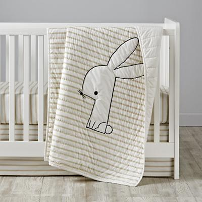 Early Edition Baby Quilt (Bunny)