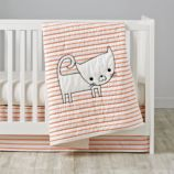 Early Edition Crib Bedding (Cat)