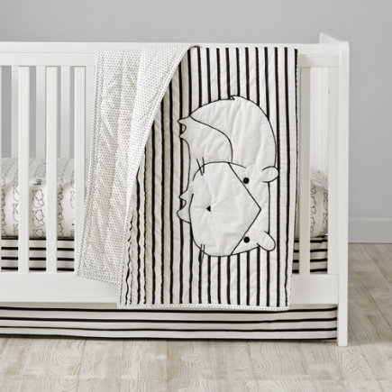 Early Edition Baby Quilt (Hampster) - Early Edition Hamster Baby Quilt