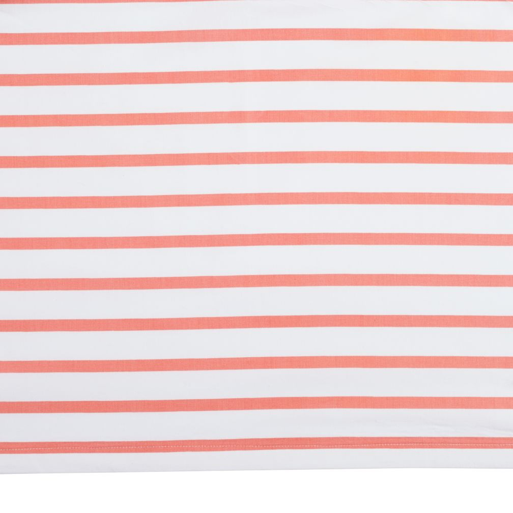 Early Edition Crib Skirt (Pink Stripe)