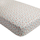 Far, Far Away Floral Crib Fitted Sheet