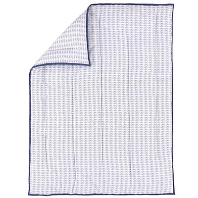 Fine Prints Baby Quilt (Blue Fish)