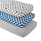 Make a Splash Crib Fitted Sheets (Set of 3)