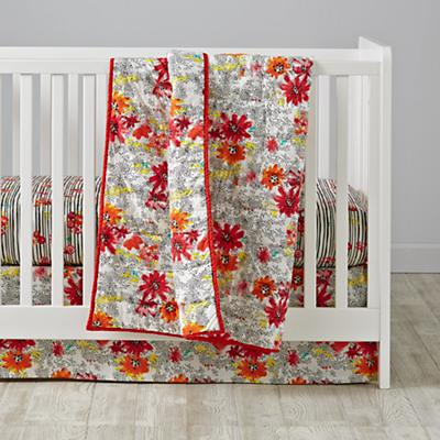 Floral Pop Crib Bedding