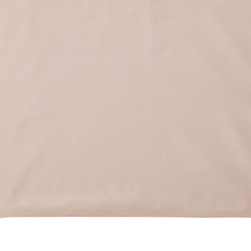Fresh Linen Crib Skirt (Light Pink)