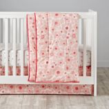 Go Lightly Crib Bedding (Pink)