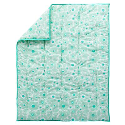 Go Lightly  Baby Quilt (Mint)