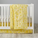 Go Lightly Crib Bedding (Yellow)