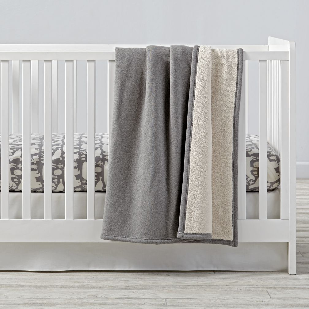 Great White North Flannel Crib Bedding