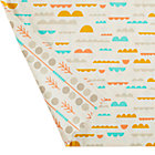 High Plains Organic Crib Skirt.