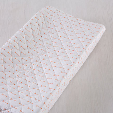 Iconic Orange Arrows Changing Pad Cover - Orange Arrow Changing Pad Cover