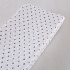 Grey Raindrops Changing Pad Cover