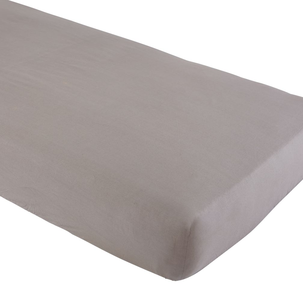 Iconic Crib Sheet (Grey)