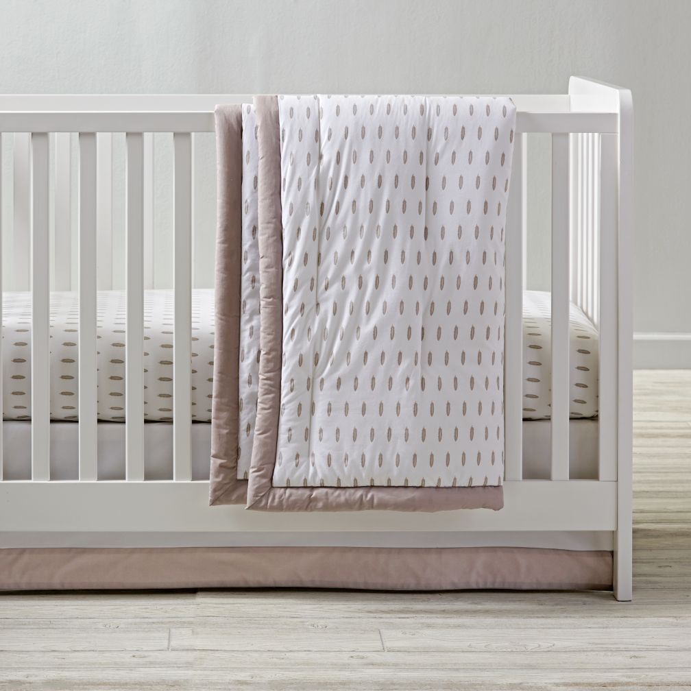 Iconic Crib Bedding (Feather)
