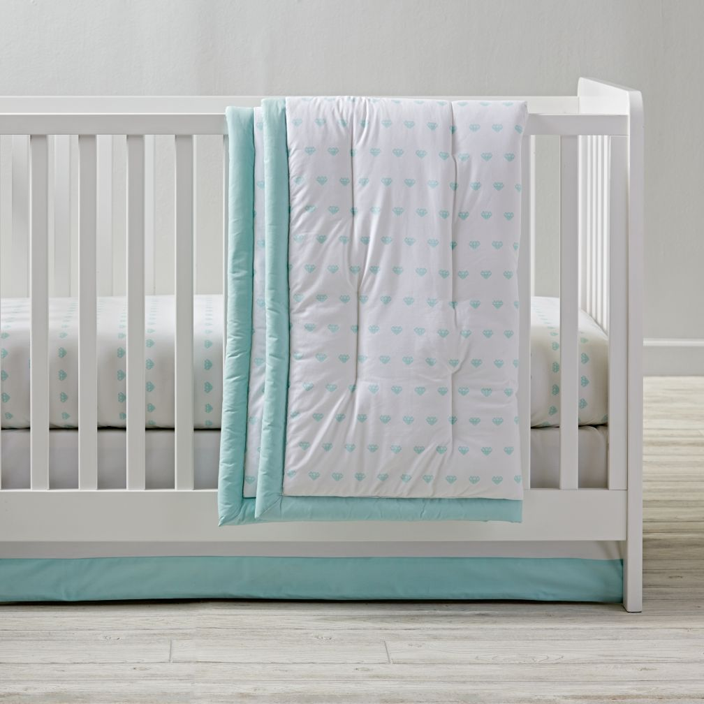 Iconic Crib Bedding (Gemstone)