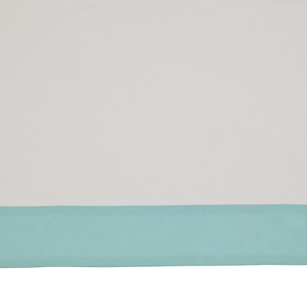 Iconic Crib Skirt (Mint)
