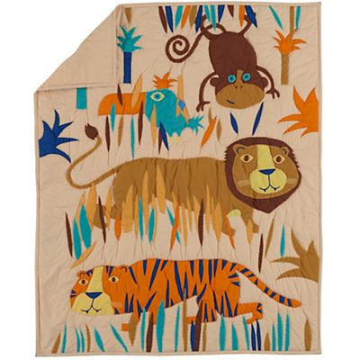 Lions and Tigers Baby Quilt