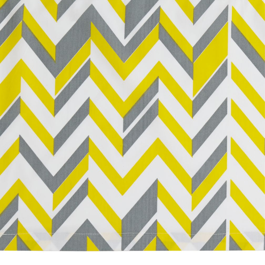 Little Prints Crib Skirt (Yellow)