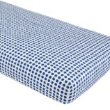 Farmer's Market Crib Fitted Sheet (Blueberry)
