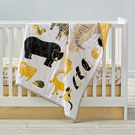 - Menagerie Baby Quilt