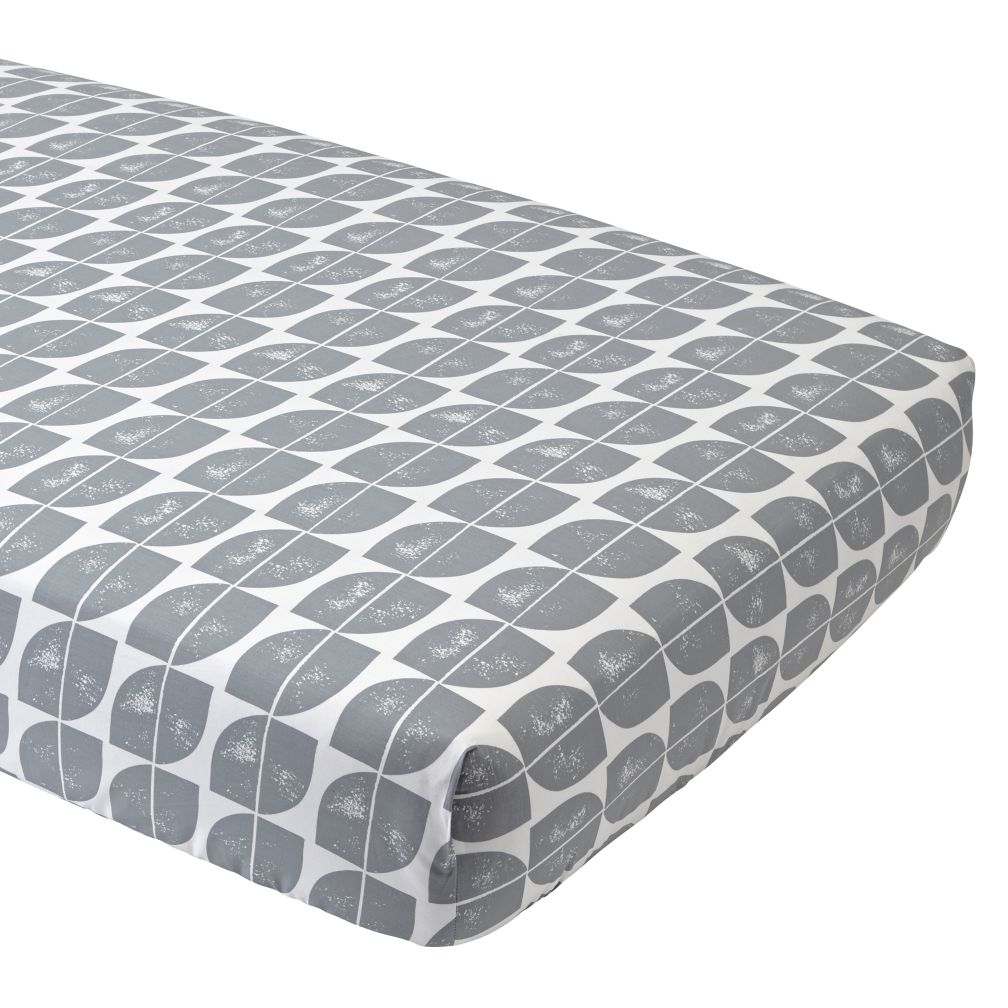 Modern Mix Crib Fitted Sheet