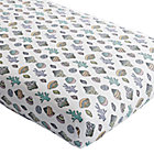 New Wave Nautical Crib Fitted Sheet
