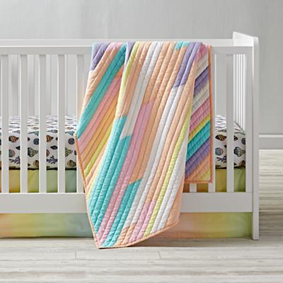 New Wave Nautical Crib Bedding