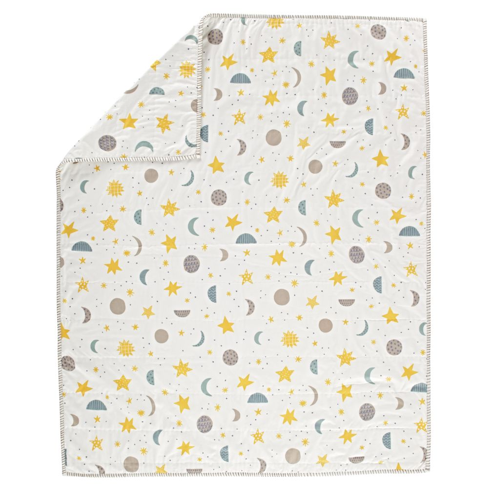 Organic Nightfall Baby Blanket