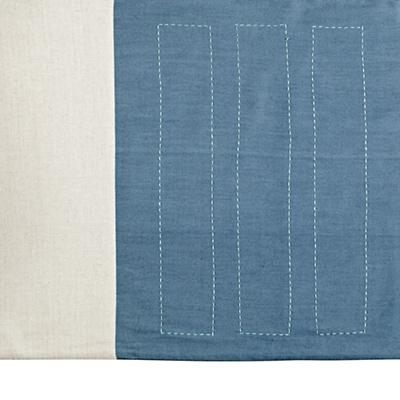 Pattern Casual Crib Skirt (Blue)