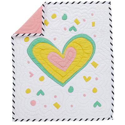 Pattern Party Baby Quilt