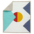 Polygon Baby Quilt
