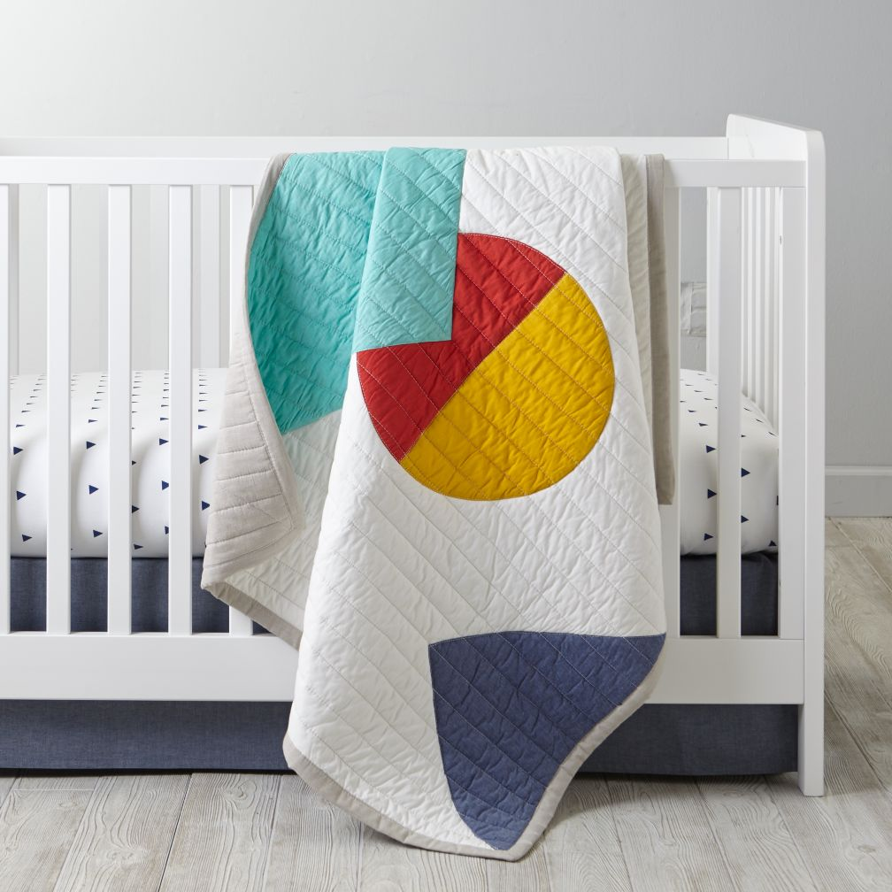 Polygon Crib Bedding